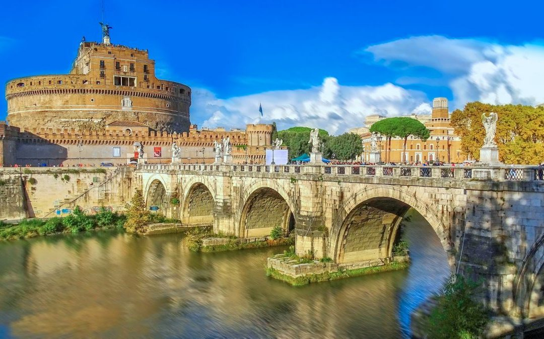Visiting Castel Sant'Angelo in Rome