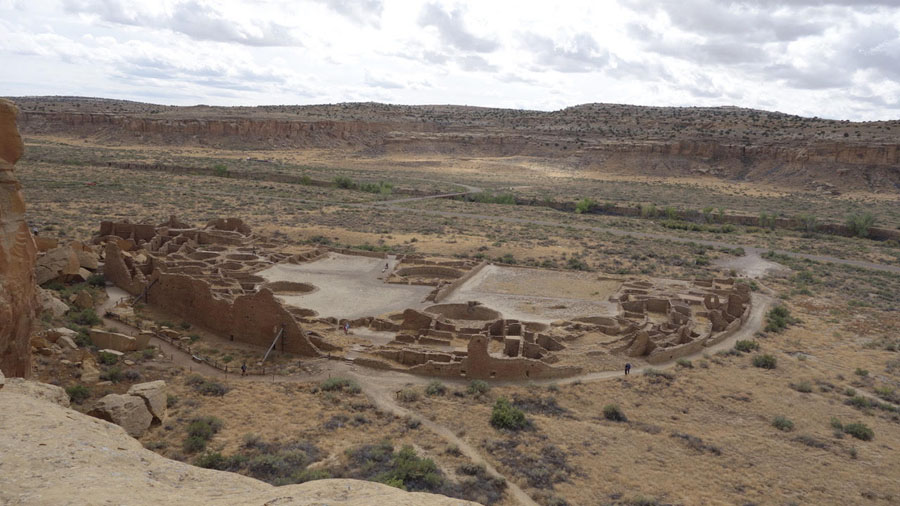 Dwellings in Chaco Culture National Park