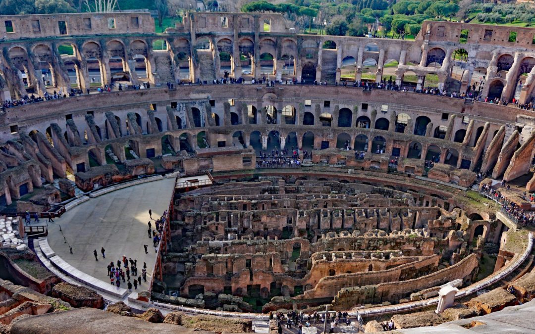 Touring the Top Level of the Colosseum