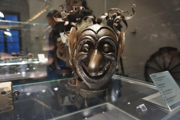 Torture mask at Fortress Hohensalzburg