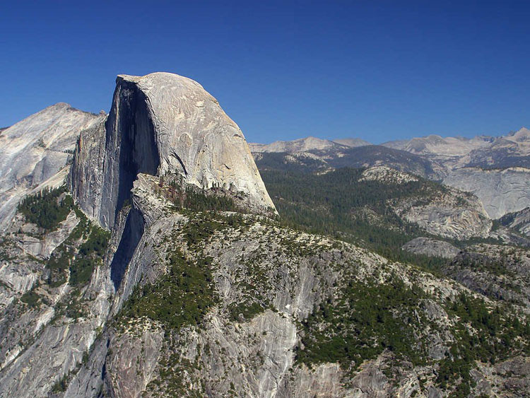 Half Dome, one of the best trails in Yosemite