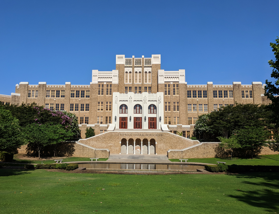 Touring Little Rock Central High School National Historic Site • Nomad by Trade