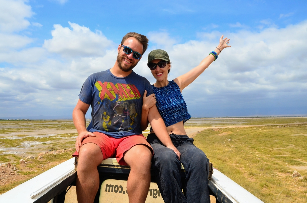 Couples safari in Kenya