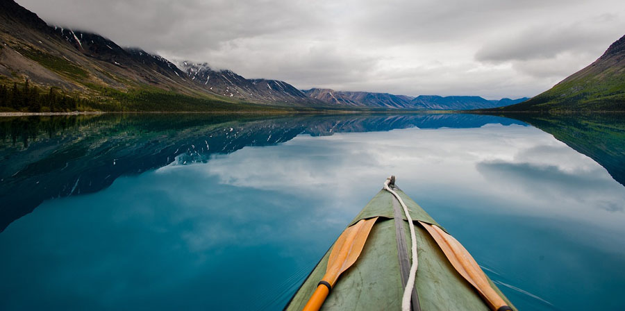 Kayak in Lake Clark National Park