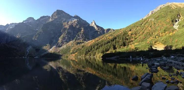 Morskie Oko in the Polish Tatras