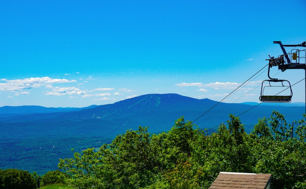 Mt. Bromley in the Green Mountains