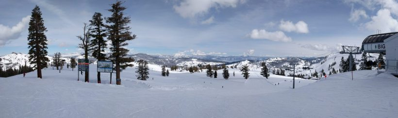 View from the top of Emigrant at Squaw Valley