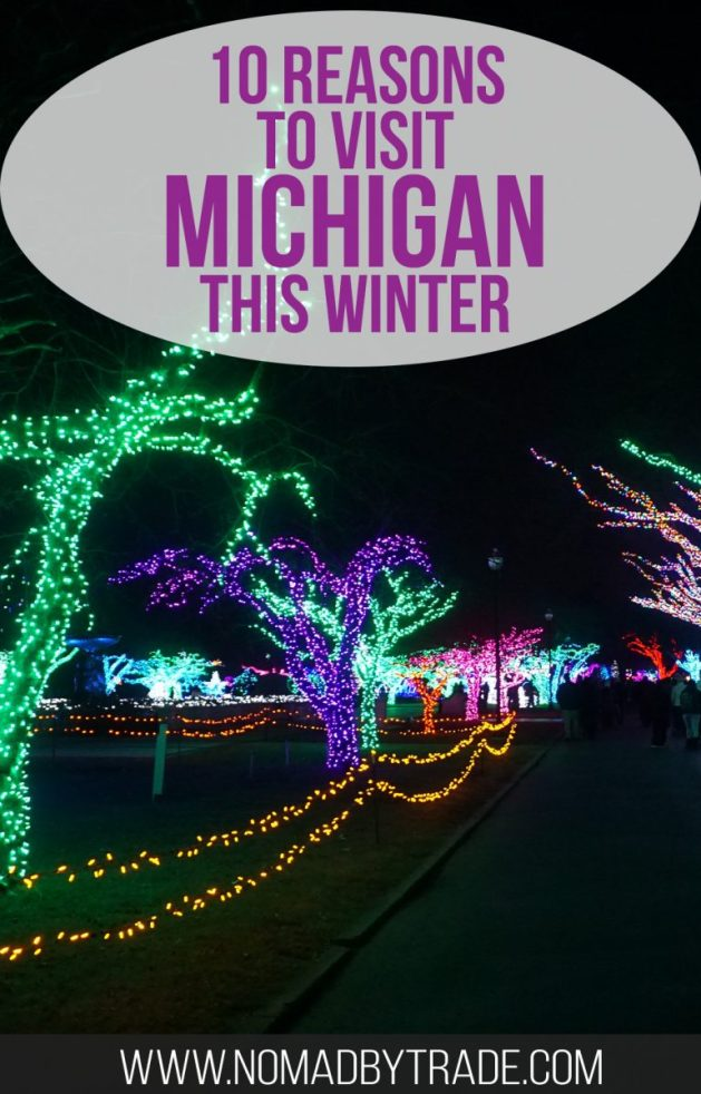 Michigan in winter offers great indoor and outdoor activities for everyone. Check out this local's guide to the best winter activities in Michigan. #Michigan | #WinterInMichigan | #WinterTravel | Things to do in Michigan | Michigan winter activities | #PureMichigan | #DetroitRedWings | #Detroit | Things to do in Detroit