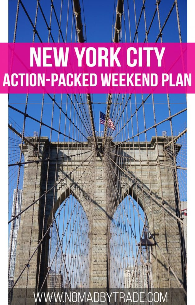 Action packed nyc weekend itinerary nomad by trade for Things to do in manhattan ny this weekend