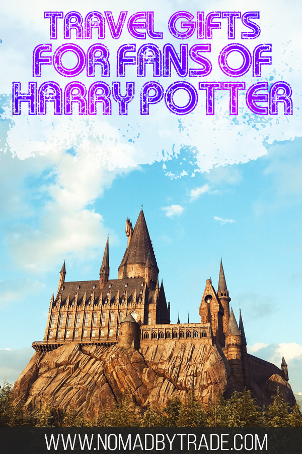 Looking for gifts for Harry Potter fans? These great travel gifts will be perfect for fans of Harry Potter. With backpacks, travel umbrellas, luggage tags, a guide to Harry Potter filming locations featuring Hogwarts, Platform 9 3/4 and more, you'll have all the best travel gear.