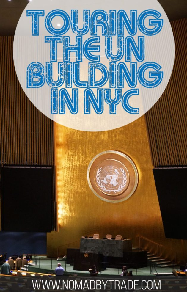 Want to get some in-person insight into how the United Nations operates? While in New York City, you can take a tour of the building and even step inside the Security Council Chamber and General Assembly room. Learn more about taking a UN Headquarters tour here. #NYC | #NewYorkCity | #UnitedNations | #UNHeadquarters | Things to do in New York City | Things to do in NYC