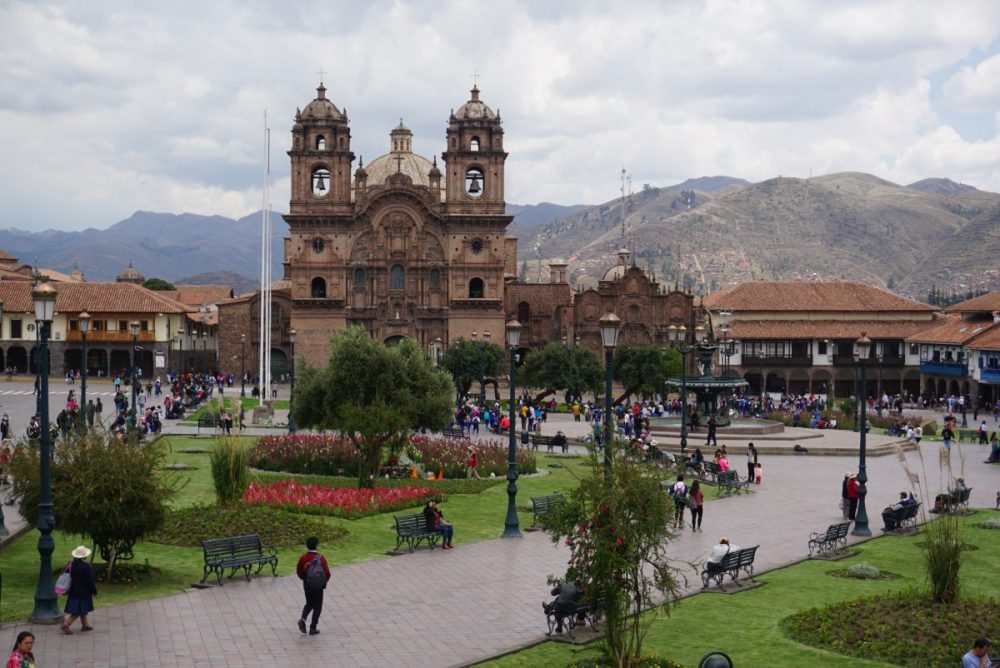 Plaza de Armas in Cusco, Peru