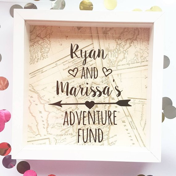 Personalized travel savings box
