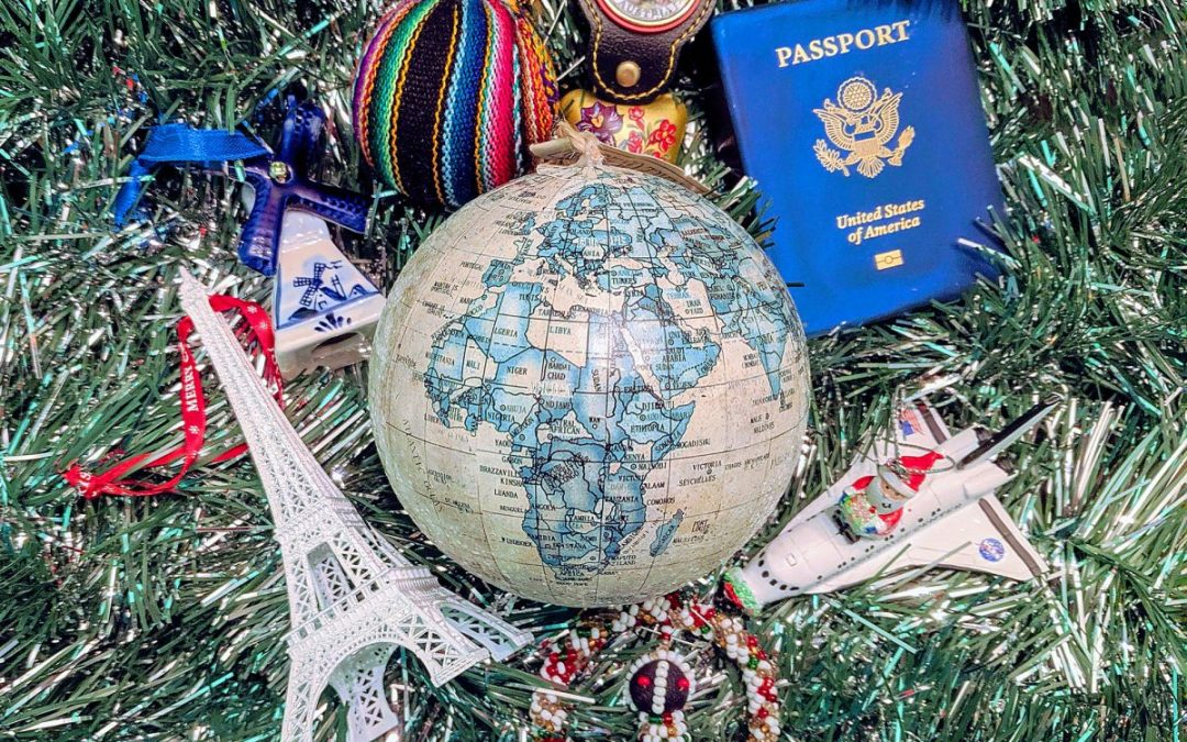 Travel Ornaments and Other Décor for the Perfect Wanderlust-Inspired Tree