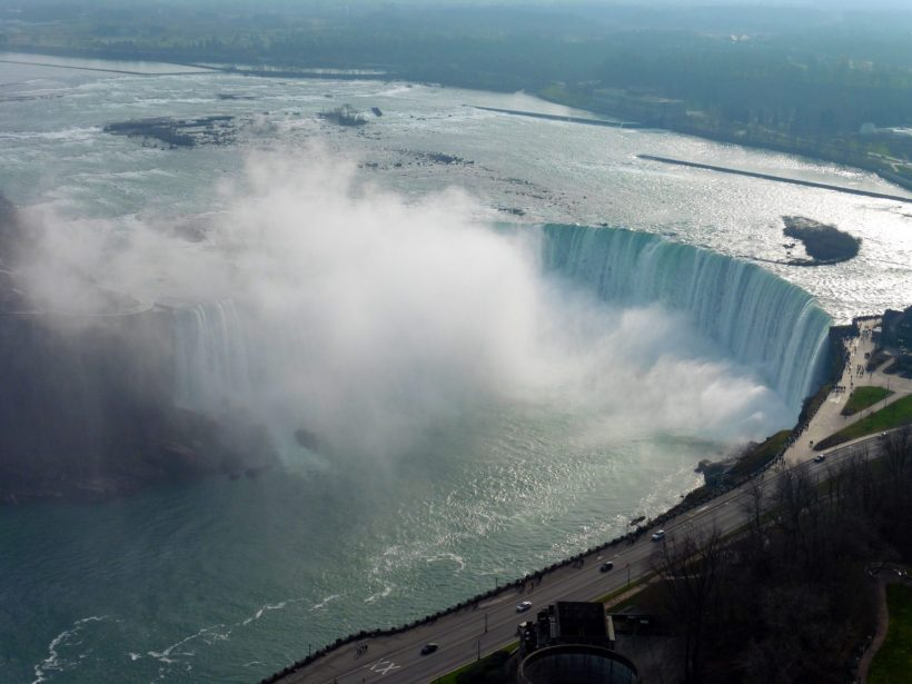Niagara Falls from the top of the Skylon Tower