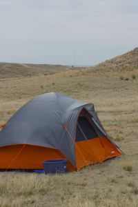 Camping in Pawnee Buttes National Grassland