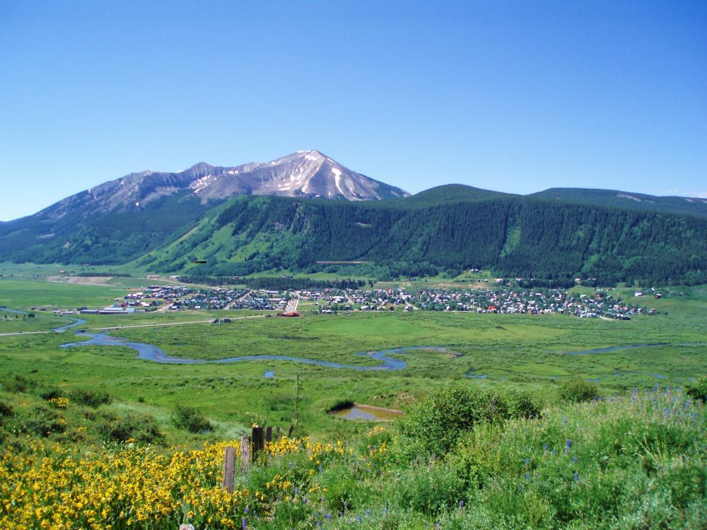 Lupine Trail in Crested Butte