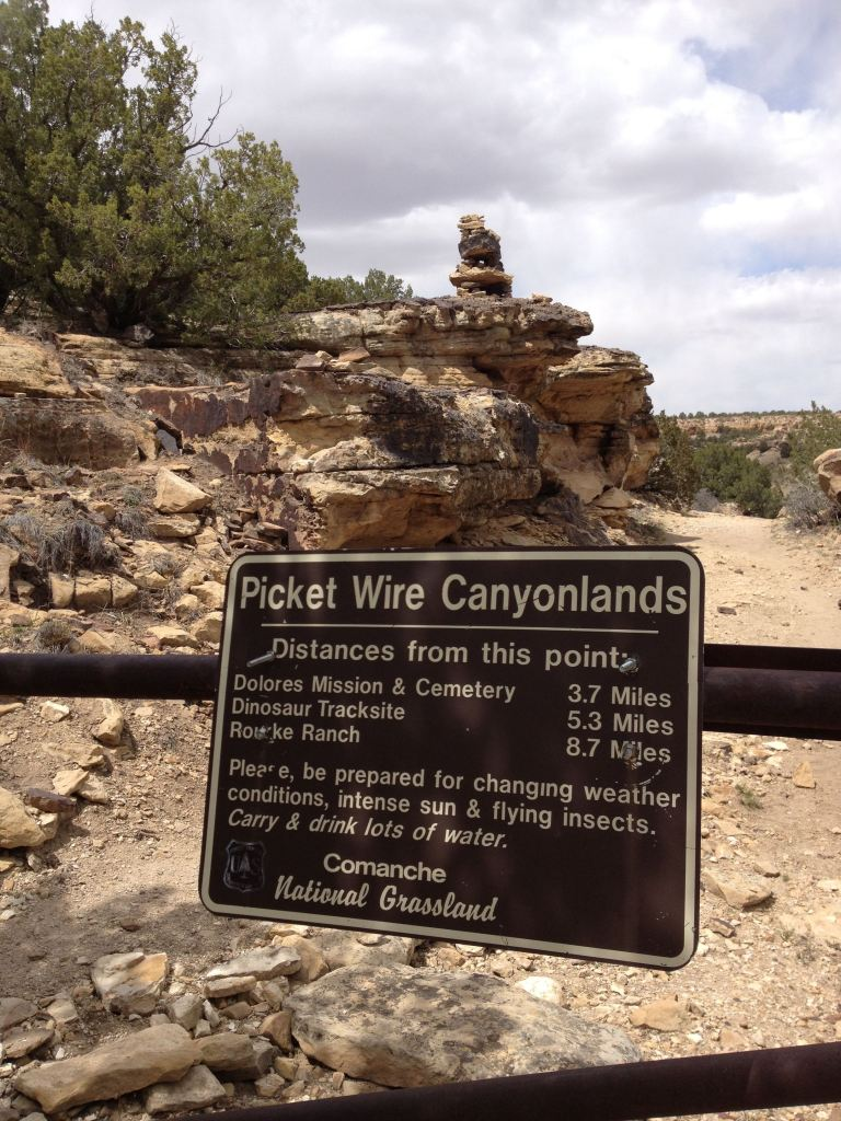 Picketwire Canyon Trailhead