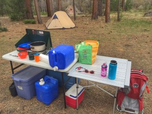 Dispersed Camping Gear