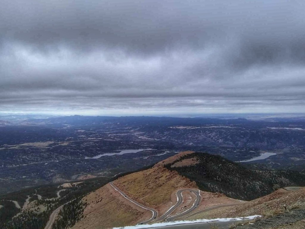 drive up the pikes peak highway nomad colorado