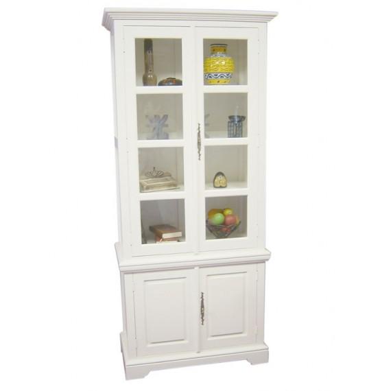 bibliotheque vitree 4 portes yugur