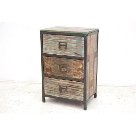 petit meuble de rangement 3 tiroirs tamang