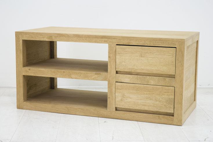 meuble tv 2 tiroirs combine sami