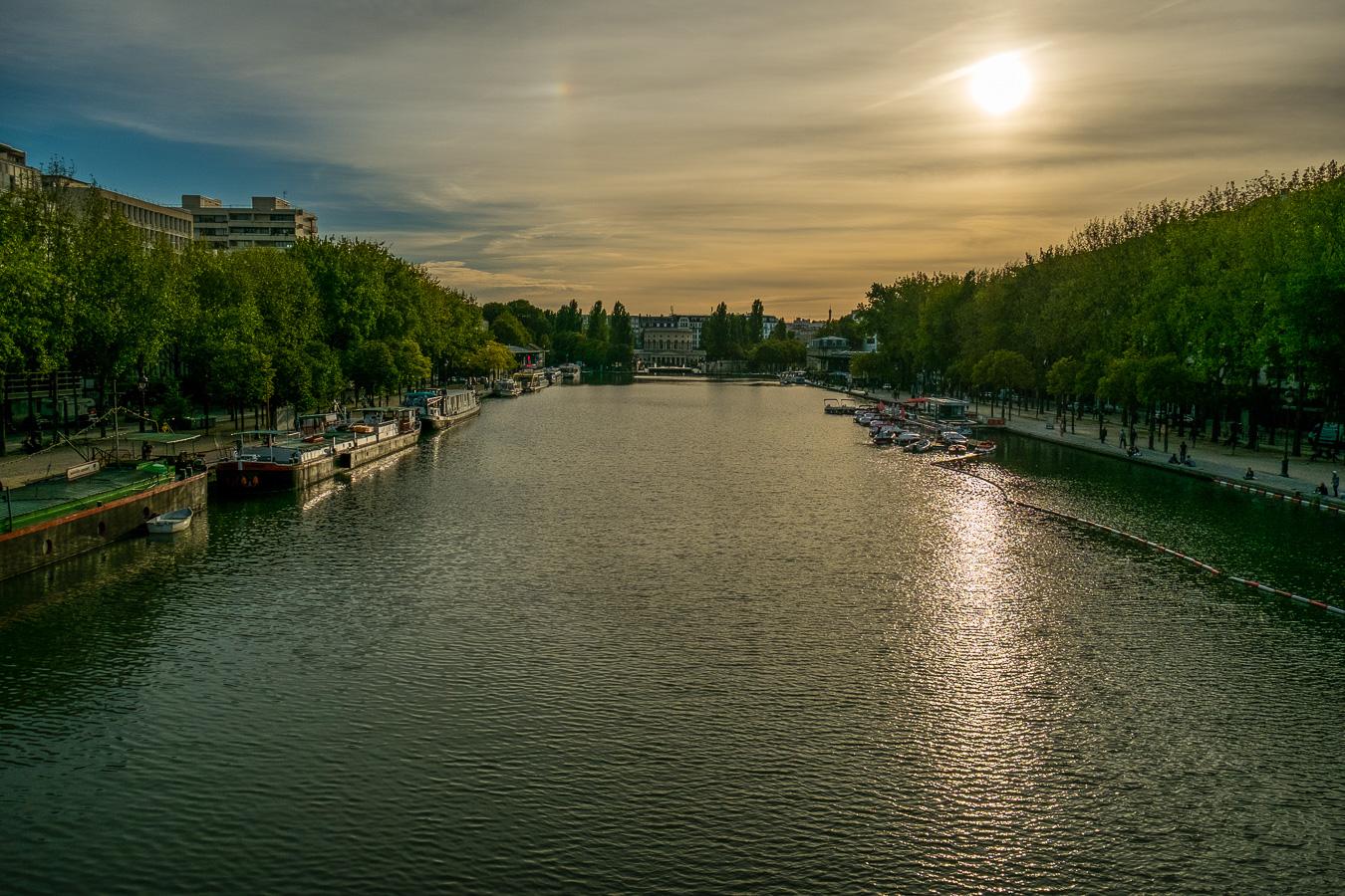 Paris 19 - Canal de l'Ourcq
