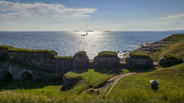 The views from Suomenlinna Island are fantastic!