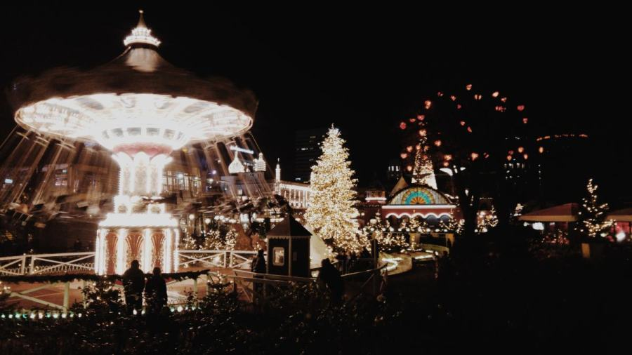 Christmas Markets in Copenhagen Tivoli