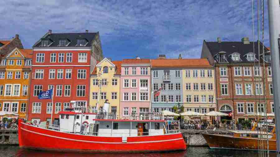 one day in copenhagen itinerary map