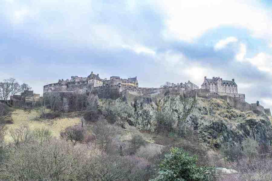 rainy day activities in edinburgh castle