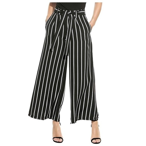palazzo pants are a lightweight alternative to jeans for your india packing list in summer