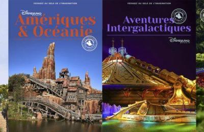 Guide de voyage Disneyland Paris, 4 guides pour découvrir le monde dans le parc !