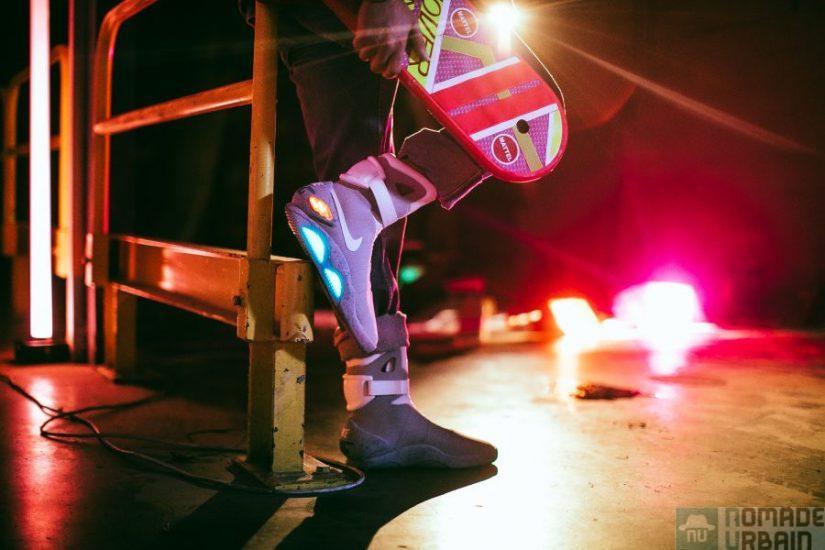 Gagnez les sneakers de Marty McFly avec Sweet Pants x Back To The Futur et Kev Adams