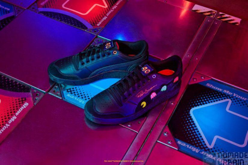 Pac Man x Puma, les sneakers personnalisables pour les 40 ans de Courir !