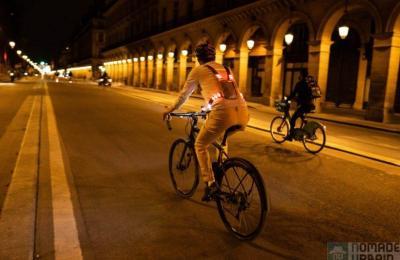 Weelight, le harnais ultra light et lumineux pour les vélotafeurs !