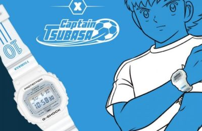 G-Shock x Captain Tsubasa, la montre qui va droit au but