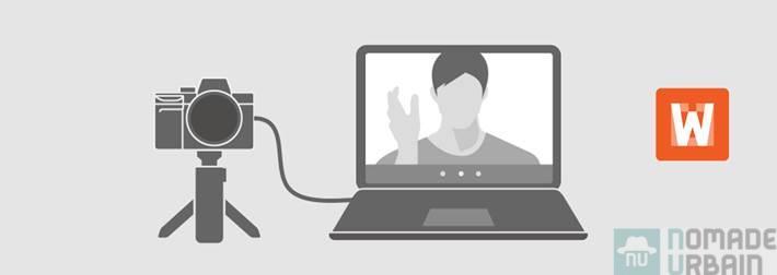 Imaging Edge Webcam, l'appli qui transforme les APN Sony en webcam
