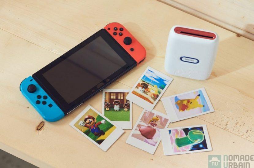 Instax x Nintendo, vos captures Switch deviennent des photos instantanées