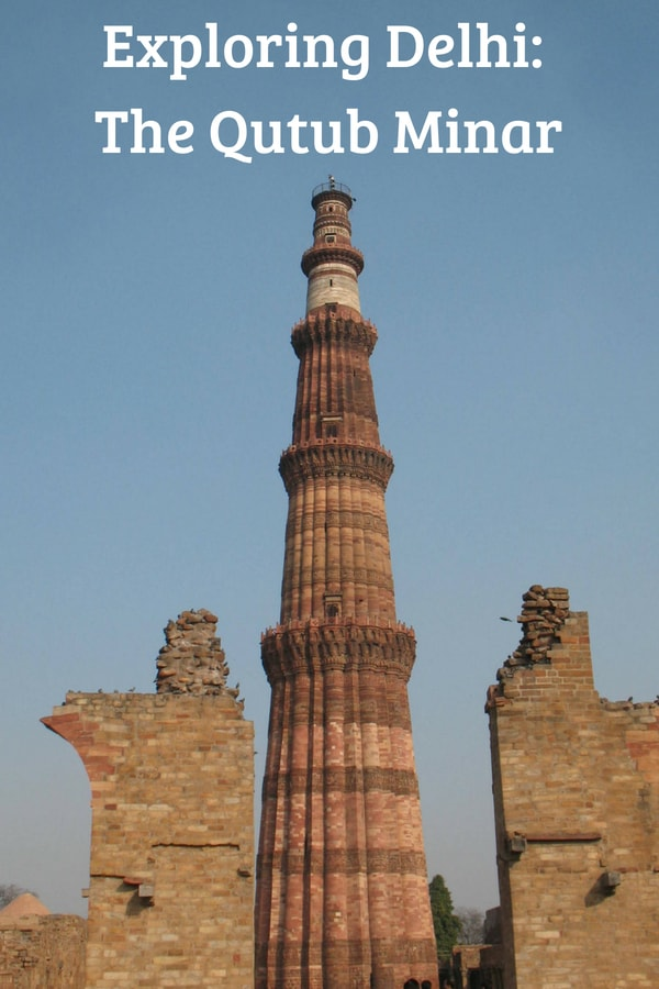 Exploring the Qutub Minar in #Delhi