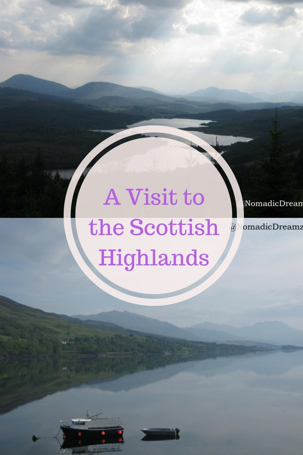 A visit to the Scottish Highlands including Callender, Glencoe, Fort William and scenic Lochs