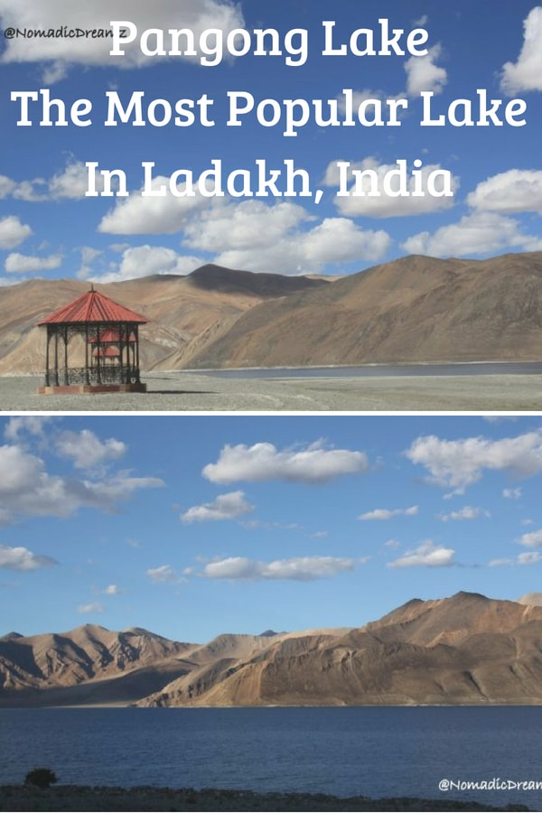 Pangong Lake is the most famous and popular lake in Ladakh