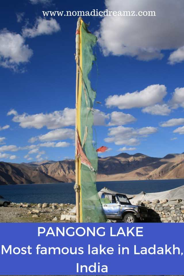 #Pangong lake is the most famous #lake in #Ladakh region of #India. Read on to discover more about this #travel #destination