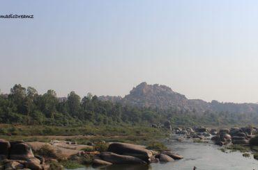 Tungabhadra river at Hampi