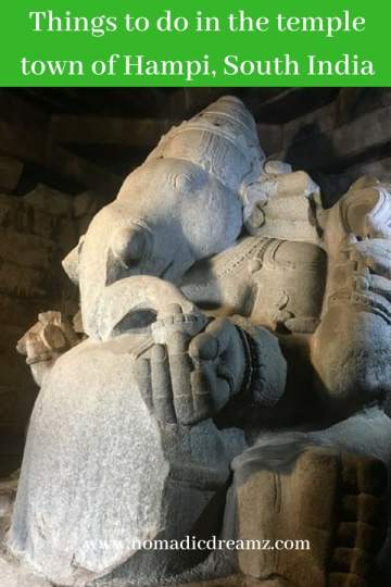 #Travel tips on what to see and do in two days in #Hampi, a UNESCO World Heritage Site near Bangalore in southern India