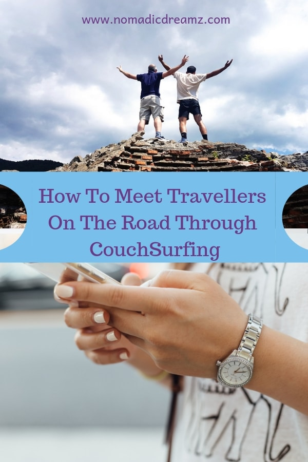 Learn how you can meet travellers online and on the road through Couchsurfing