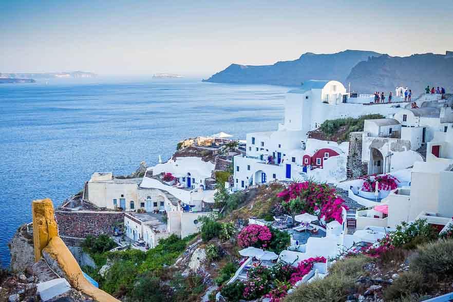 Greece honeymoon destination