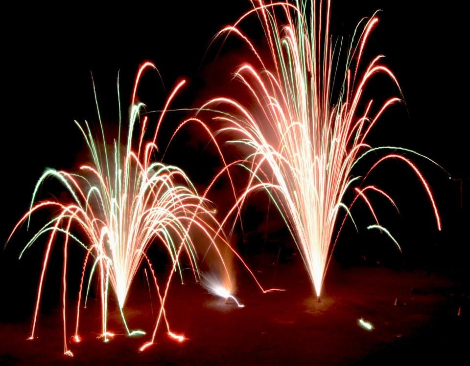 Fire work Diwali