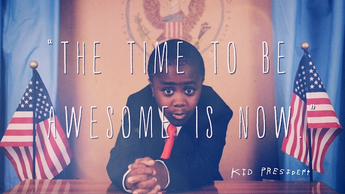 be awesome by traveling the world